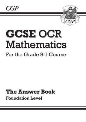 New GCSE Maths OCR Answers for Workbook: Foundation - For the Grade 9-1 Course