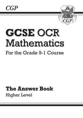 New GCSE Maths OCR Answers for Workbook: Higher - For the Grade 9-1 Course