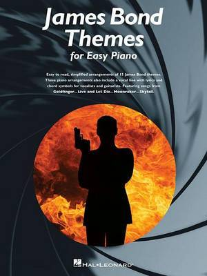 James Bond Themes for Easy Piano