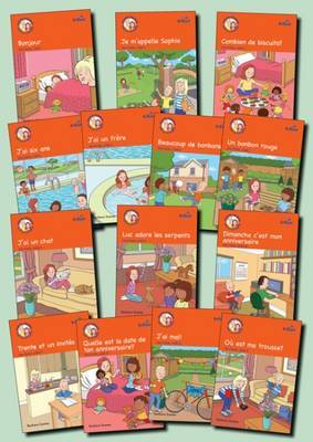 Learn French with Luc et Sophie: 1ere Partie (Part 1) : Storybook Pack Years 3-4