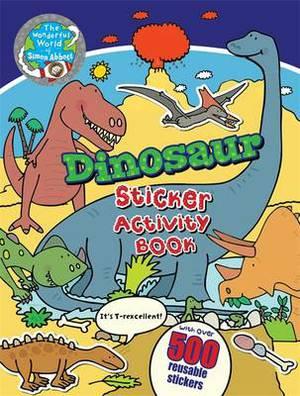 Dinosaur Sticker Activity Book