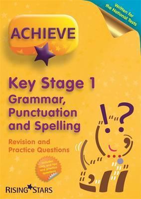 Achieve KS1 Grammar, Punctuation & Spelling Revision & Practice Questions