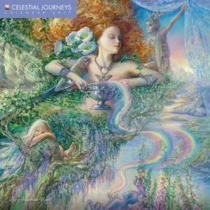 Celestial Journeys By Josephine Wall Wall Calendar 2017
