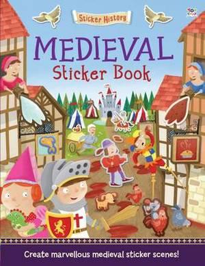 Medieval Sticker Book