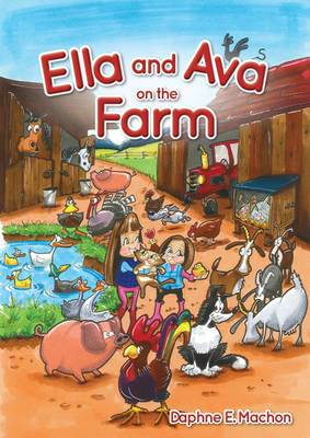 Ella and Ava on The Farm