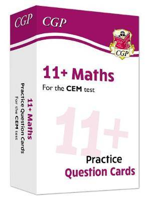 New 11+ CEM Maths Practice Question Cards - Ages 10-11