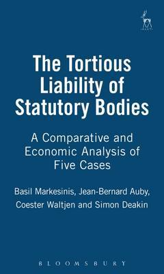 Tortious Liability of Statutory Bodies: a Comparative and Economic Analysis of Five Cases