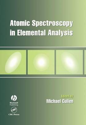 Atomic Spectroscopy in Elemental Analysis