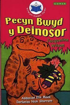 Cyfres Trwyn Mewn Llyfr: Pecyn Bwyd y Deinosor