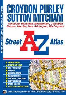 Croydon Street Atlas: Including Banstead, Beckenham, Coulsdon, Merton, Morden, New Addington, Warlingham