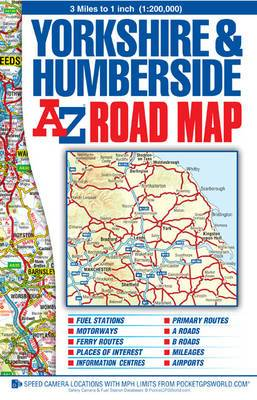 Yorkshire and Humberside Road Map