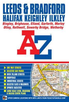 Leeds & Bradford A-Z Street Atlas: 2013
