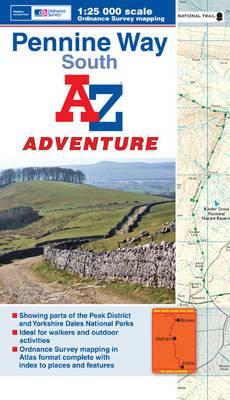Penine Way (South) Adventure Atlas