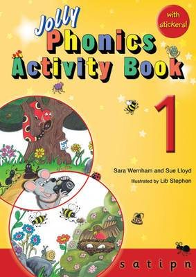 Jolly Phonics Activity Book 1: in Precursive Letters (British English edition)