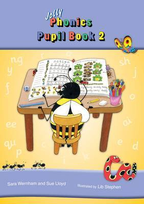 Jolly Phonics Pupil Book 2 (colour edition): in Print Letters (British English edition)