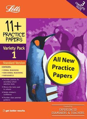 Standard Variety Pack 1: Practice Test Papers
