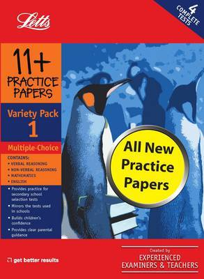 Multiple Choice Variety Pack 1: Practice Test Papers