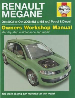 Renault Megane Petrol & Diesel: 2002 to 2008