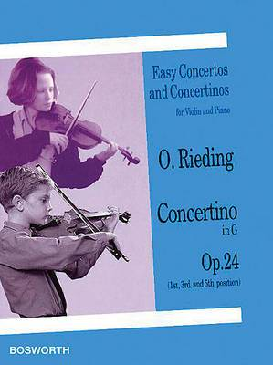 Oskar Rieding: Concertino In G Op.24 (Violin/Piano)
