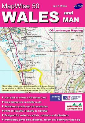 Wales: All OS Landranger Maps of Wales on CD