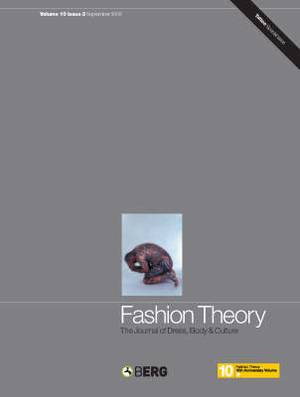 Fashion Theory: The Journal of Dress, Body and Culture: Special Issue - Fashioning Skin: the Process and Practice of Tattoo