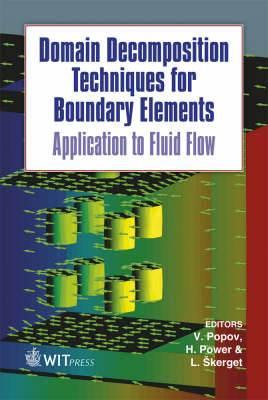 Domain Decomposition Techniques for Boundary Elements: Application to Fluid Flow