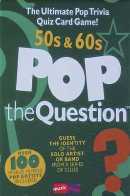 Pop the Question - 50s & 60s: The Ultimate Pop Trivia Quiz Game!