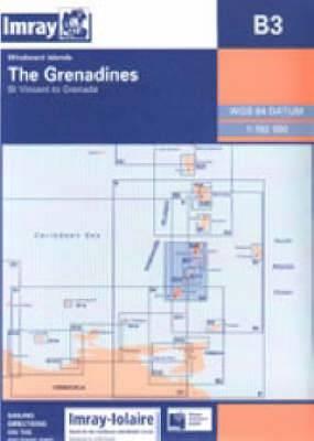 imray iolaire chart b3 2007 the granadines st vincent to grenada