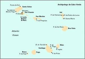 Imray Chart E4: Arquipelago De Cabo Verde