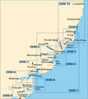 Imray Chart Pack 2000: Suffolk and Essex Coasts
