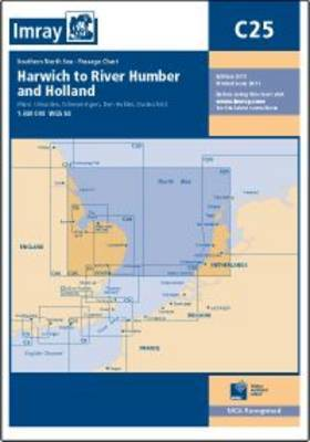 Imray Chart C25: Harwich to River Humber and Holland