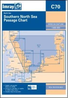 Imray Chart C70: Southern North Sea Passage Chart