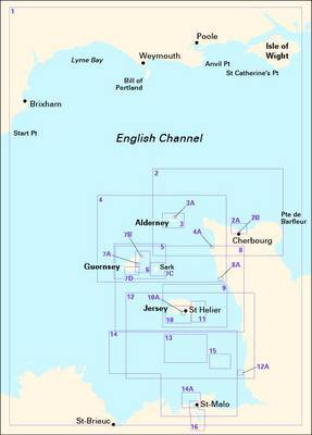 Imray Chart Pack 2500: Channel Islands: 2014