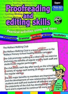 Proofreading and Editing Skills: Practical Activities Using Text Types: Upper