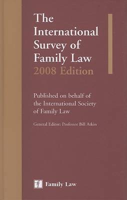 International Survey of Family Law: 2008