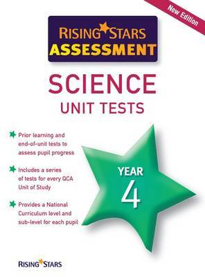Rising Stars Assessment Science Unit Tests Year 4