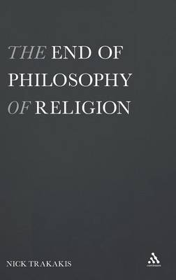 The End of Philosophy of Religion