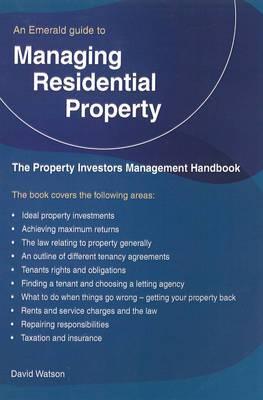 The Property Investors Management Handbook - Managing Residential Property