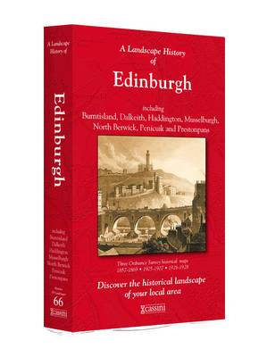 A Landscape History of Edinburgh (1857-1928) - LH3-066: Three Historical Ordnance Survey Maps