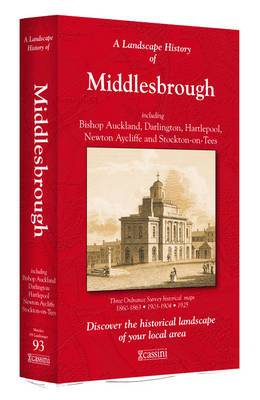 A Landscape History of Middlesbrough (1860-1925) - LH3-093: Three Historical Ordnance Survey Maps