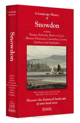 A Landscape History of Snowdon (1840-1922) - LH3-115: Three Historical Ordnance Survey Maps