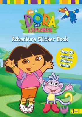 Dora the Explorer Sticker Story Book