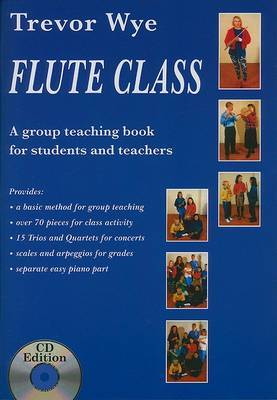Trevor Wye: Flute Class (book and 2 CDs)