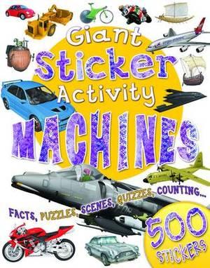 Giant Sticker Book Machines