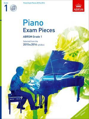 G1 Piano Exam W/CD 2015-16