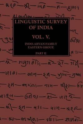Linguistic Survey Of India Vol V Part II