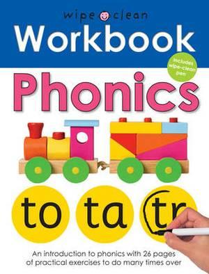 Phonics: Wipe Clean Workbooks