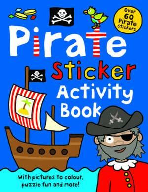 Pirate Sticker Activity Book