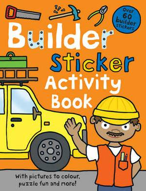 Builder Sticker Activity Book