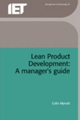 Lean Product Development: A Managers Guide